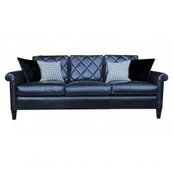 Duresta Clearance Sofa Gabrielle Large in Scholar Black