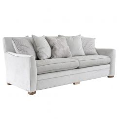 Duresta Clearance Manchester 4 Seater Sofa in Dolce Magnesium