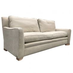 Duresta Clearance Manchester 4 Seater Sofa in Zephyr Champagne