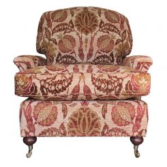 Duresta Clearance Ruskin Armchair in Sevenoakes Gold Russet