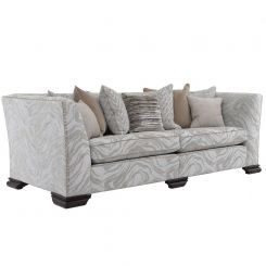Duresta Clearance Sofa Hermitage Grand Studded in Les Alpes