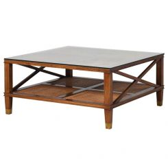 Pavilion Chic Coffee Table Enstone with Glass Top