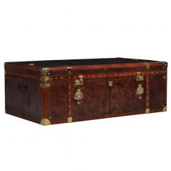 Pavilion Chic Coffee Table Trunk Vintage