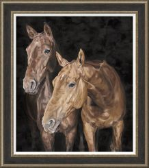 Pavilion Art Companions By Debbie Boon - Limited Edition Framed Print