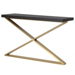 Pavilion Chic Console Table New York with X Leg
