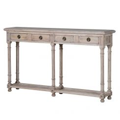 Pavilion Chic Console Table with 2 Drawers Norwich