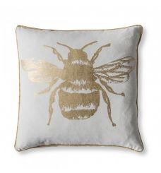 Pavilion Chic Cushion Bee in Gold