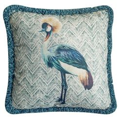 Pavilion Chic Cushion Papua Bird