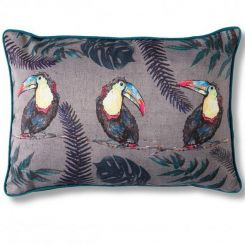 Pavilion Chic Cushion Toucan Trio Amazon