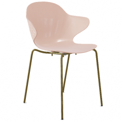 Calligaris Dining Chair St Tropez in Pink