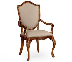 Jonathan Charles Dining Chair with Arms Hepplewhite