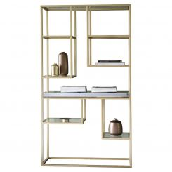 Pavilion Chic Display Unit Tottori with Glass Shelves