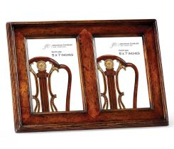 Jonathan Charles 5x7 Double Picture Frame Cottage