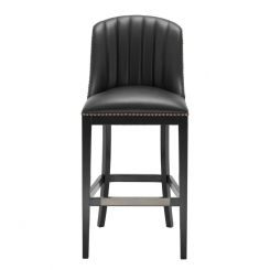 Eichholtz Bar Stool Balmore in Faux Leather