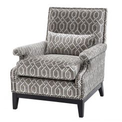 Eichholtz Chair Goldoni Pattern