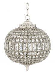 Eichholtz Chandelier Kasbah Oval - Nickel