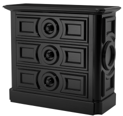 Eichholtz Chest of Drawers Cambon in Black