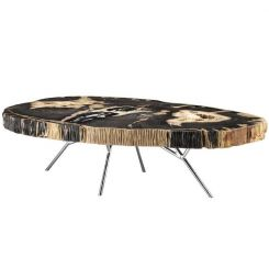 Eichholtz Coffee Table Barrymore Petrified Wood