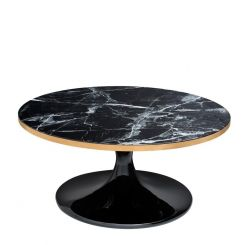 Eichholtz Coffee Table Parme in Black Faux Marble