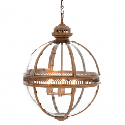 Eichholtz Lantern Residential - Antique Brass