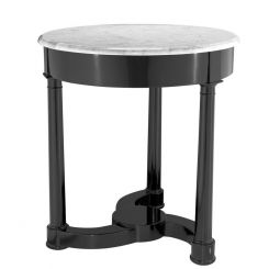 Eichholtz Side Table Bastide with White Marble Top