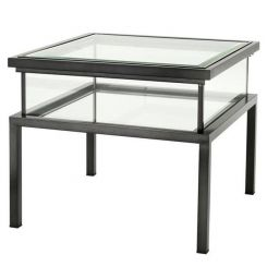 Eichholtz Side Table Harvey with Sliding Top