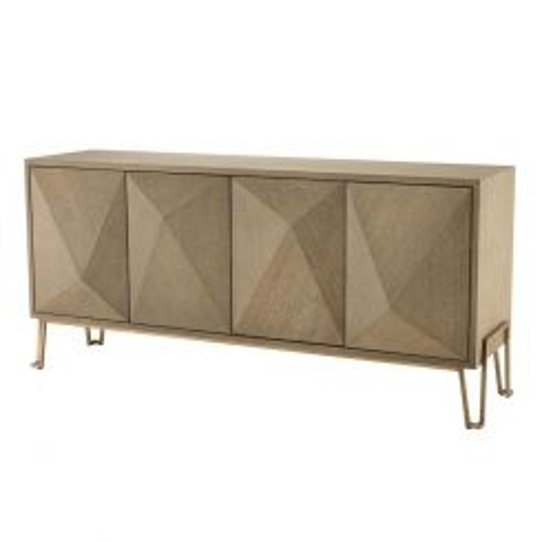 Eichholtz Sideboard Cabinet Highland Washed Oak Veneer
