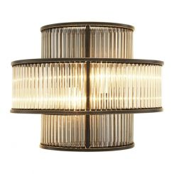 Eichholtz Wall Light Mancini in Glass