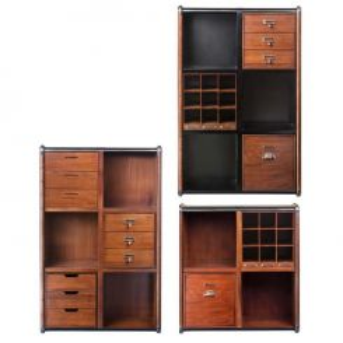 Authentic Models Endless Regency Storage Unit Honey
