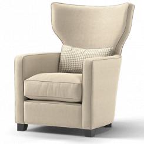 Duresta Frasier Wing Chair Audrey Truffle