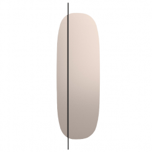 Calligaris Full Length Mirror Vanity in Bronze