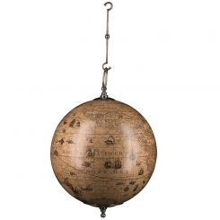 Authentic Models Hanging Hondius Globe