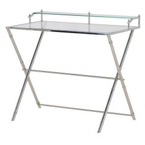 Pavilion Chic Glass Desk Watton
