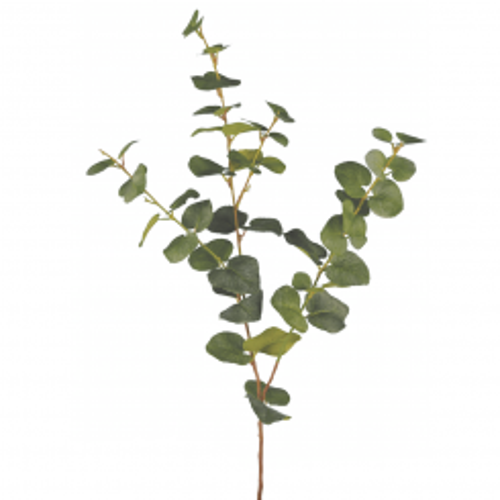 Pavilion Flowers Artificial Eucalyptus Spray Height 76cm