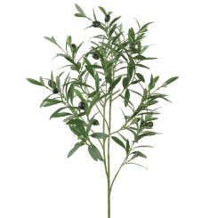 Pavilion Flowers Artificial Olive Spray Green Height 90cm