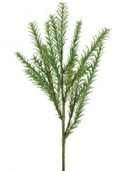 Artificial Rosemary Stem Green Height 39cm