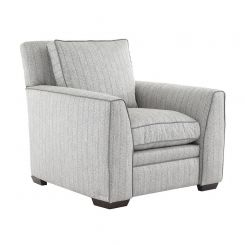 Duresta Greenwich Chair Traccia Herringbone Sea Mist