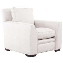 Duresta Greenwich Chair Traccia Herringbone Linen