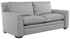 Duresta Greenwich Large Sofa in Traccia Herringbone Sea Mist