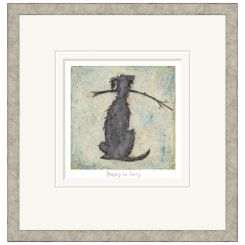 Pavilion Art Happy As Larry by Sam Toft - Limited Edition Framed Print