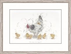 Pavilion Art Has anyone seen Eggbert? By Aaminah Snowdon - Limited Edition Framed Print