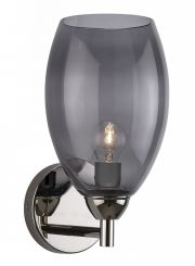 Heathfield & Co. Curzon Nickel Wall Light