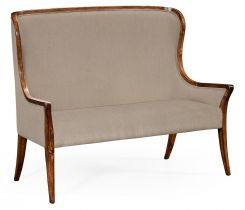 Jonathan Charles Loveseat Monarch with Curved Back - Mazo