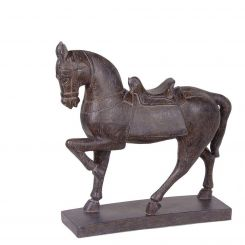 Pavilion Chic Horse Figurine Yearling in Black
