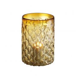 Eichholtz Hurricane Candle Holder Aquila in Yellow