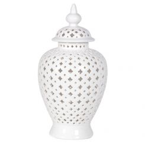 Pavilion Chic Jar Ningbo - White