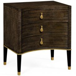 Jonathan Charles Small Chest of Drawers in Coffee Bean Eucalyptus