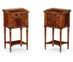 Jonathan Charles Bedside Cabinets Georgian Set of 2