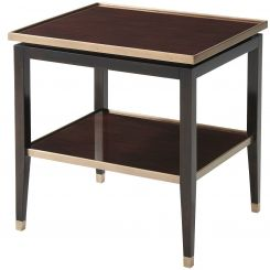 Theodore Alexander Side Table Lynx