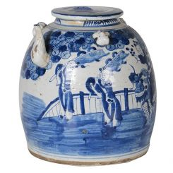 Pavilion Chic Kettle Pot Chinoiserie